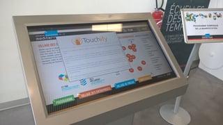 Vision interactive d'une startup de la SemaineEcoMed
