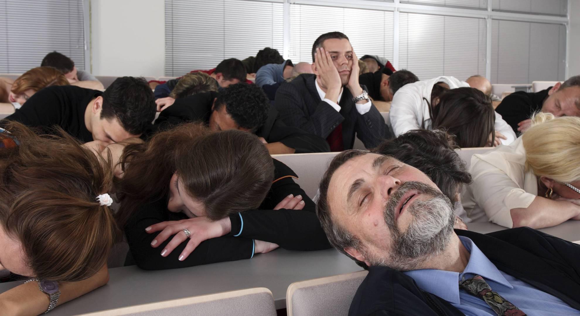 Présentation PowerPoint ennuyante